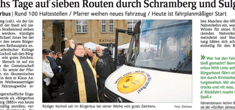 Schwabo Artikel: Sechs Tage auf sieben Routen durch Schramberg und Sulgen
