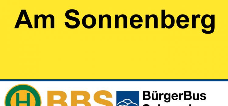 Durchfahrt am Sonnenberg ab 14.11. gesperrt