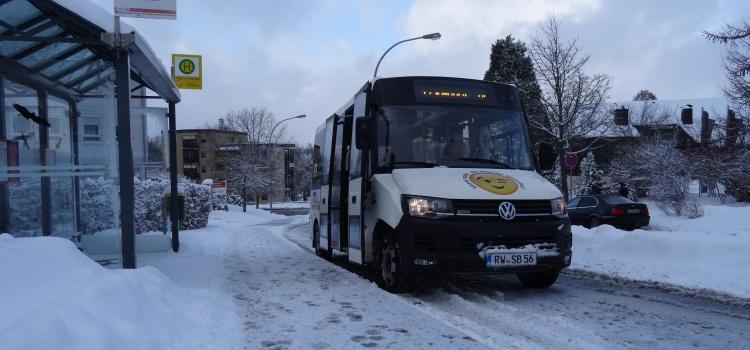 Schnee? Kein Problem für unseren Bürgerbus!