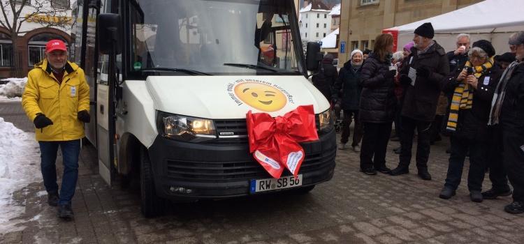 Bilder zum Geburtstag unseres Bürgerbus