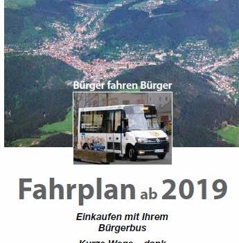 Neuer Fahrplan ab 01.01.2019