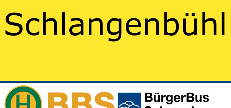 Sonderhaltestelle Schlangenbühl – beendet 07.10.2019